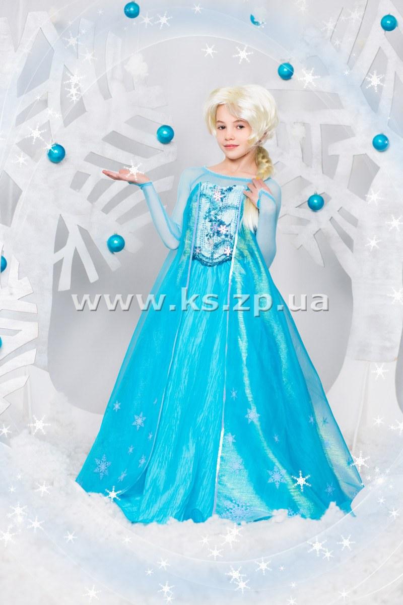 купить костюм из холодного сердца для девочек нас очень