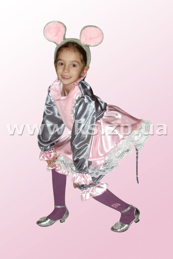 Новогодний костюм мышка для девочек своими руками с выкройками