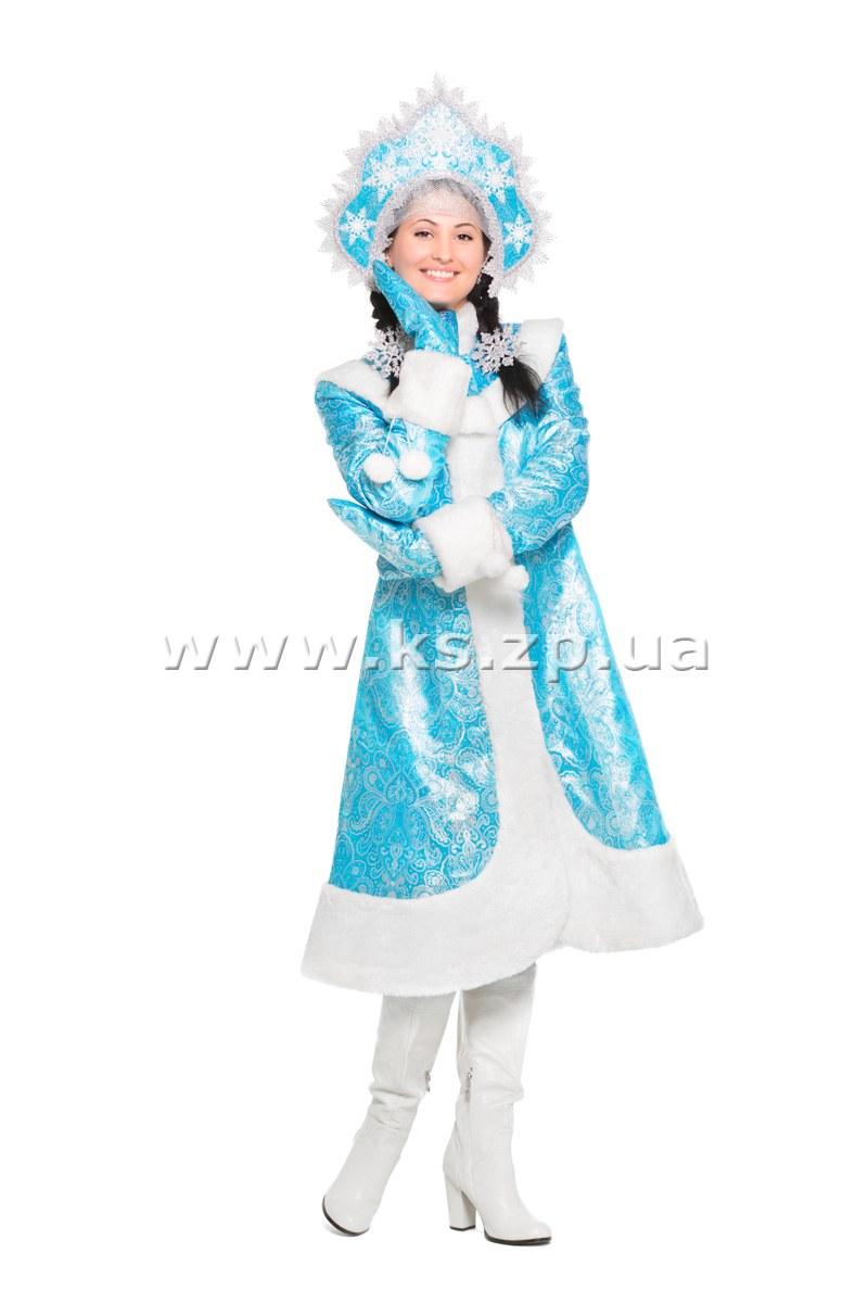 Как своими руками сделать костюм снегурочки своими руками 60
