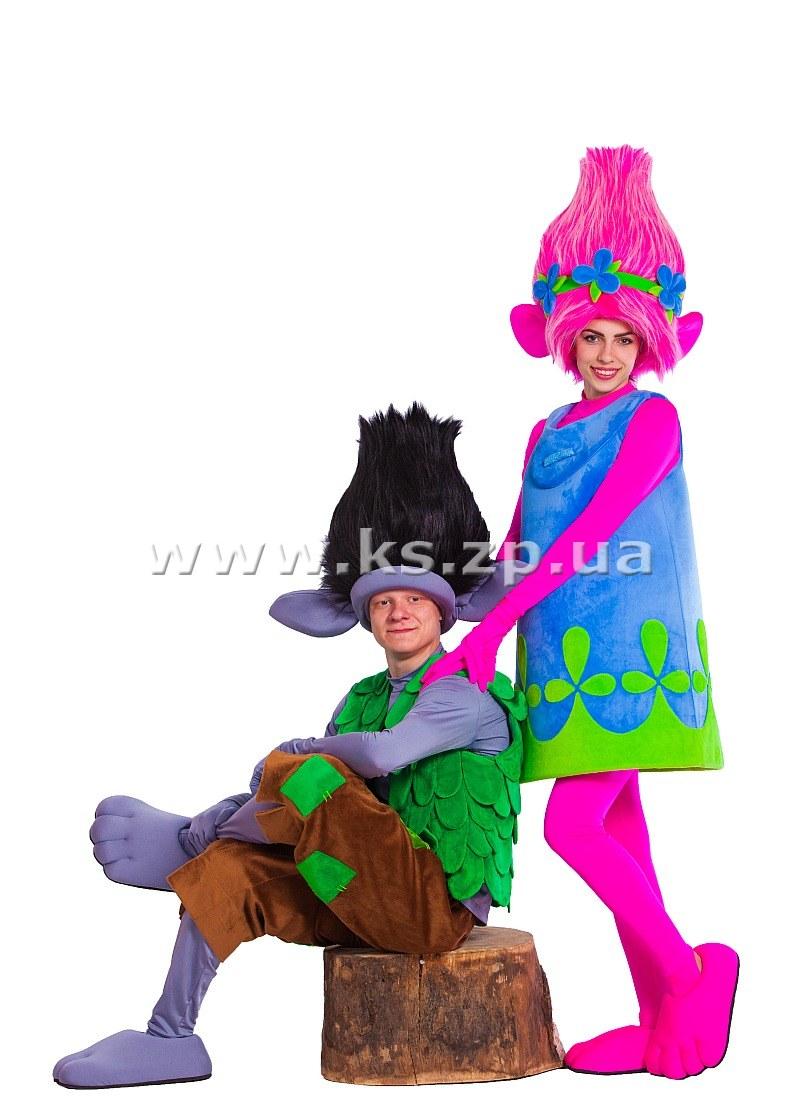 Платье Тролли Розочка Купить